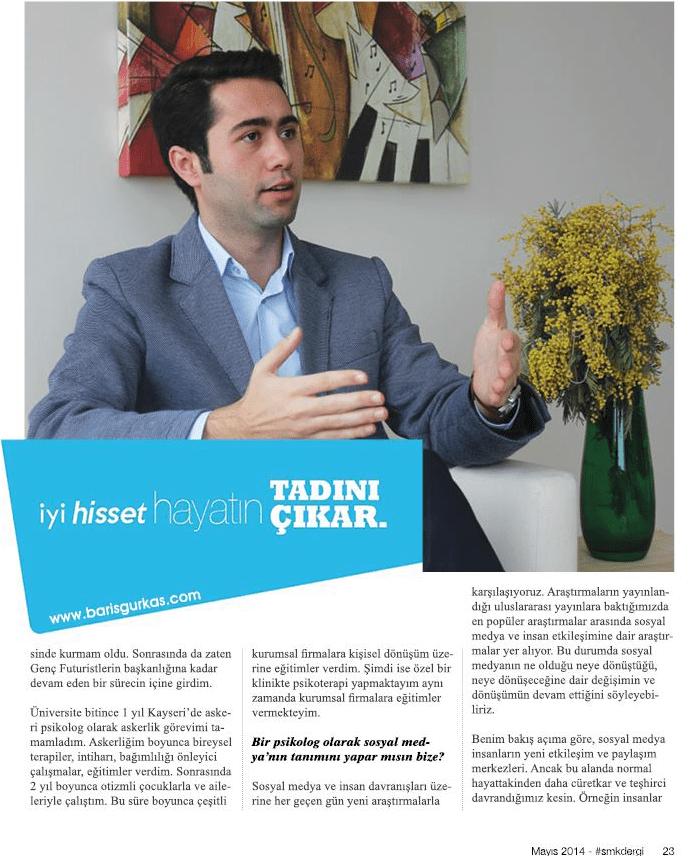 Psikolog Barış Gürkaş Röportaj