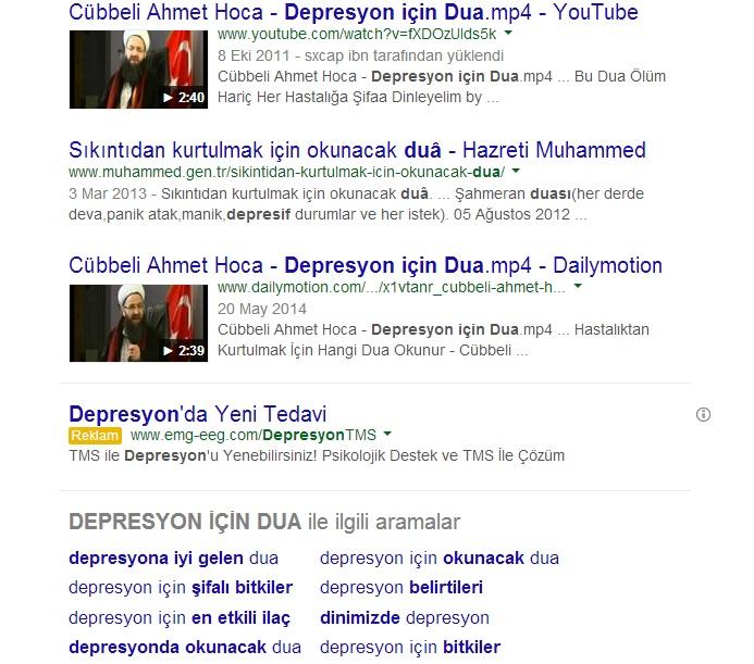 DEPRESYON DUA
